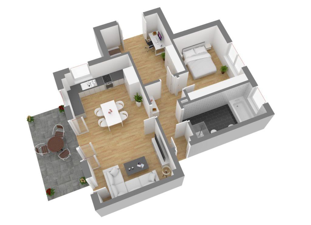 Wohnung 1, EG