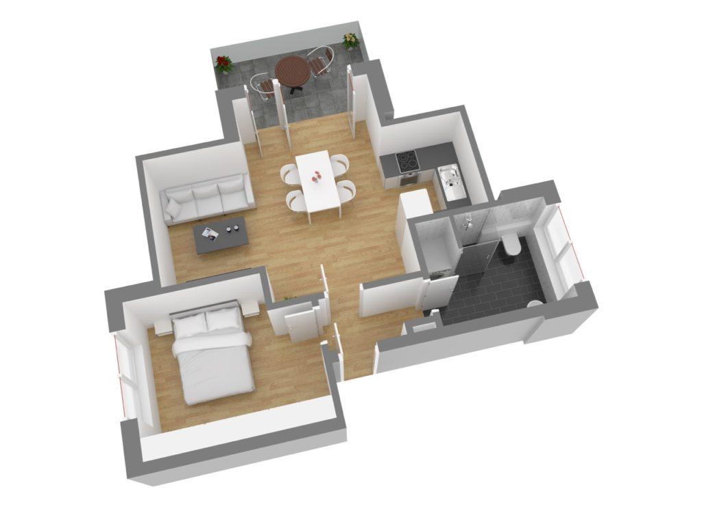 Wohnung 6, DG