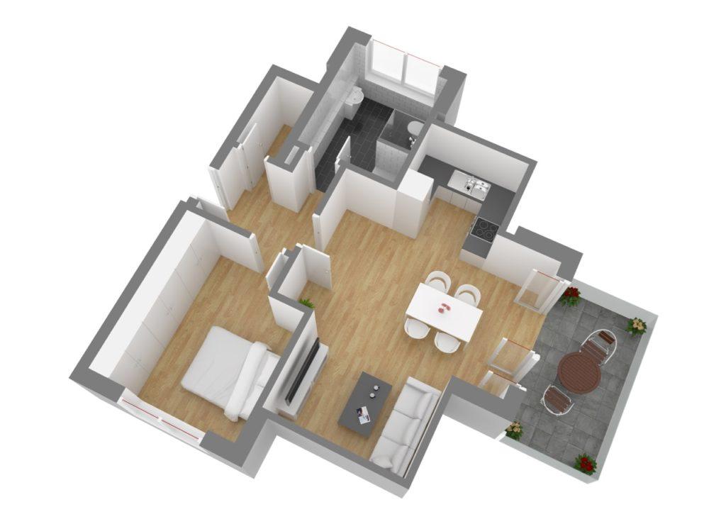 Wohnung 7, DG