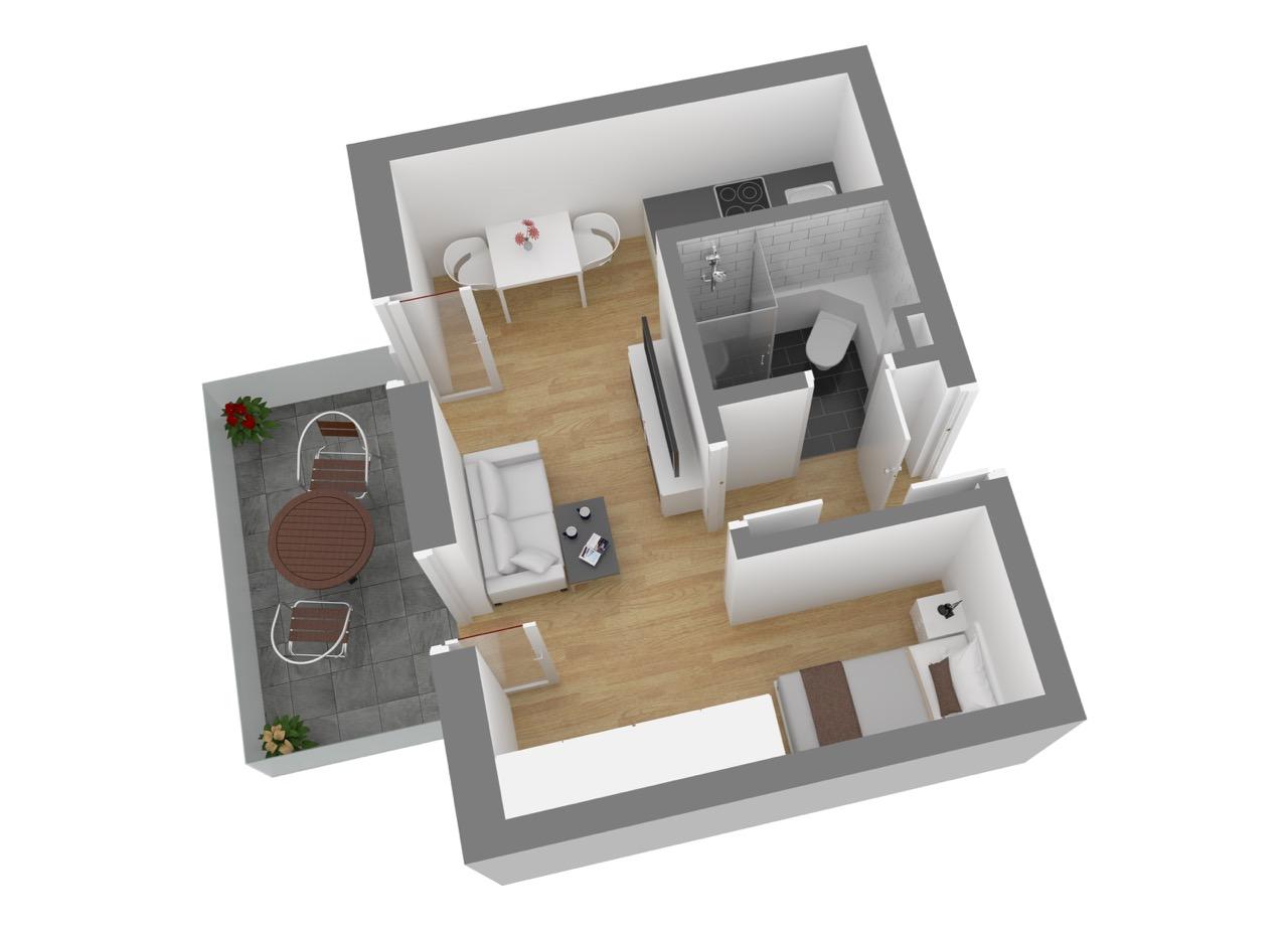 Wohnung 4, OG