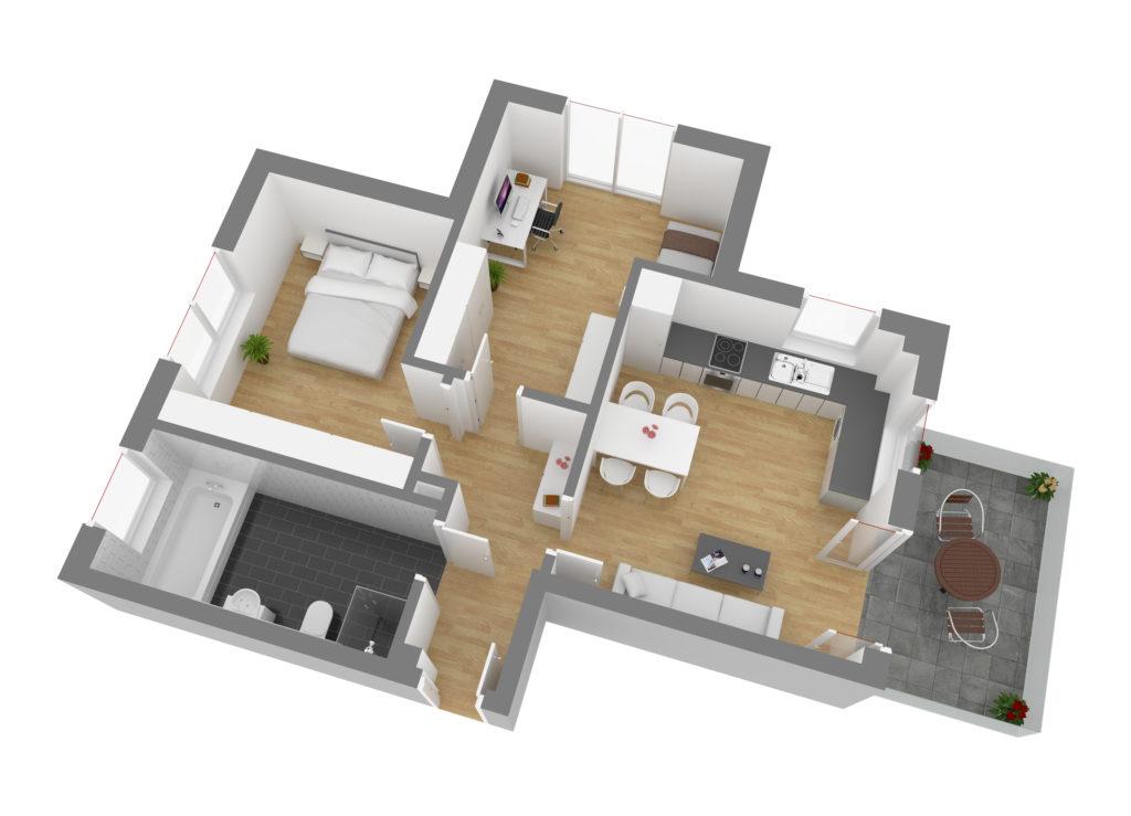 Wohnung 5, OG