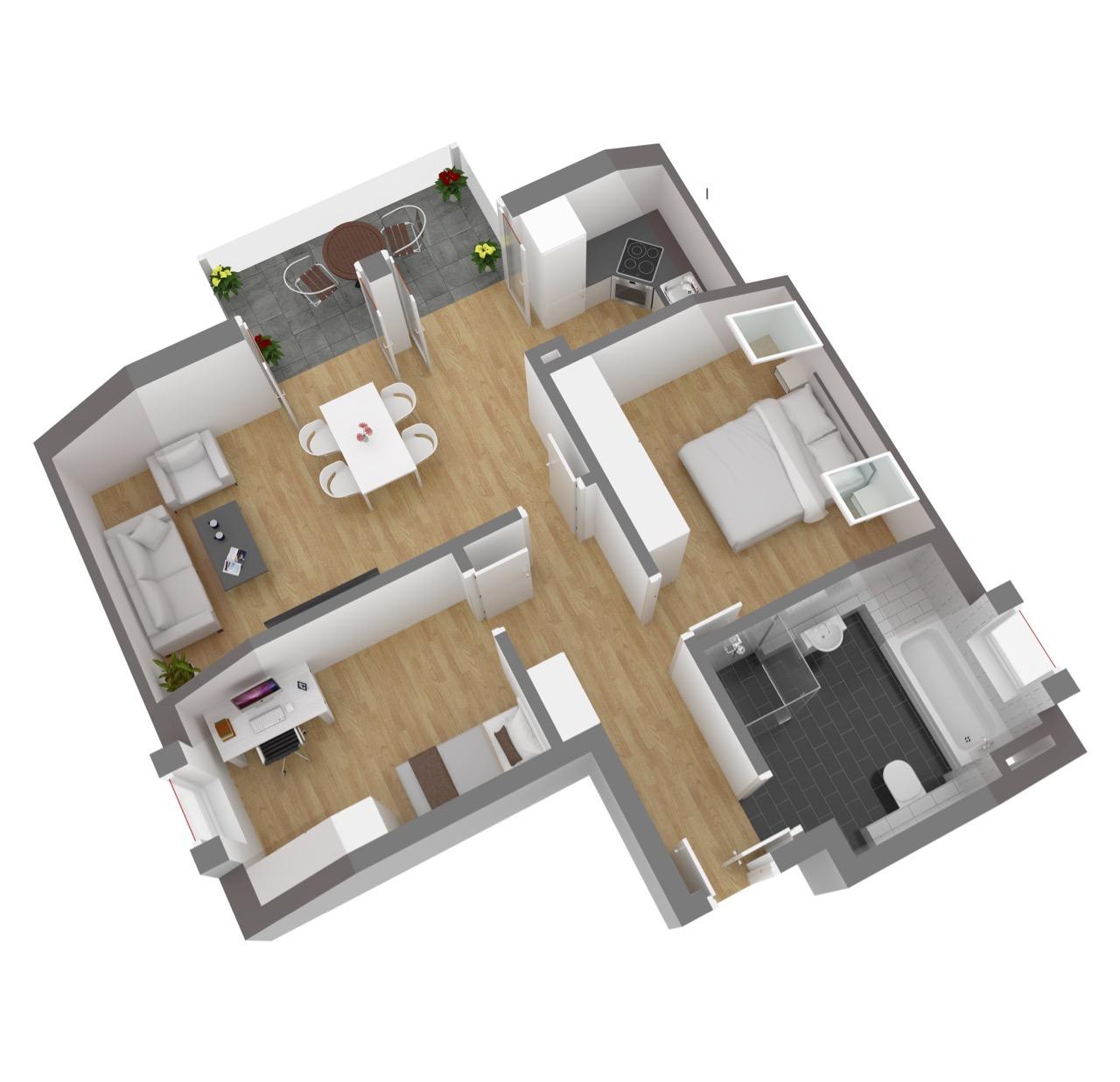 Wohnung 8