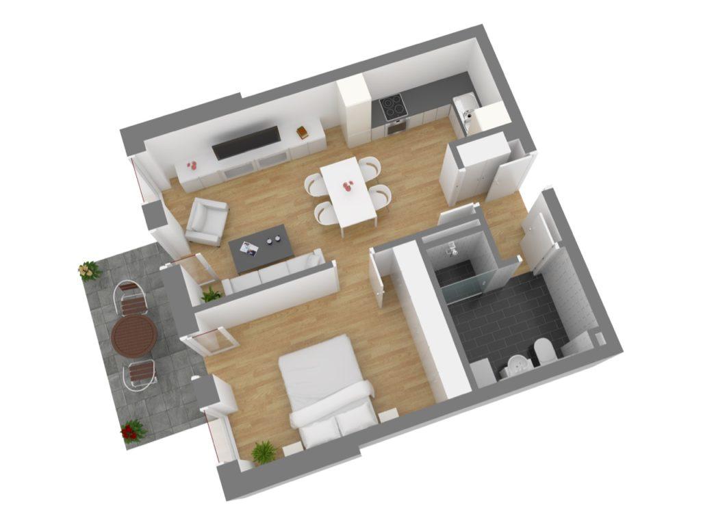 Wohnung 2, EG