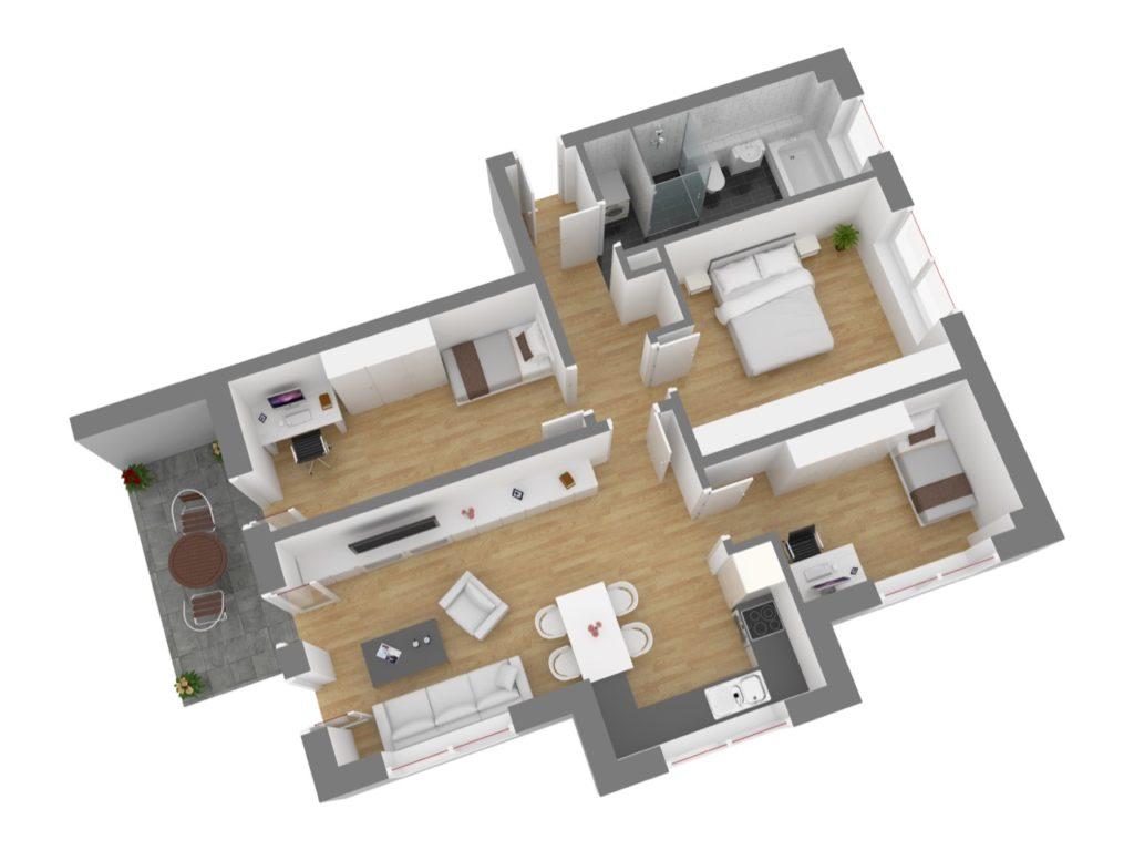 Wohnung 3, EG