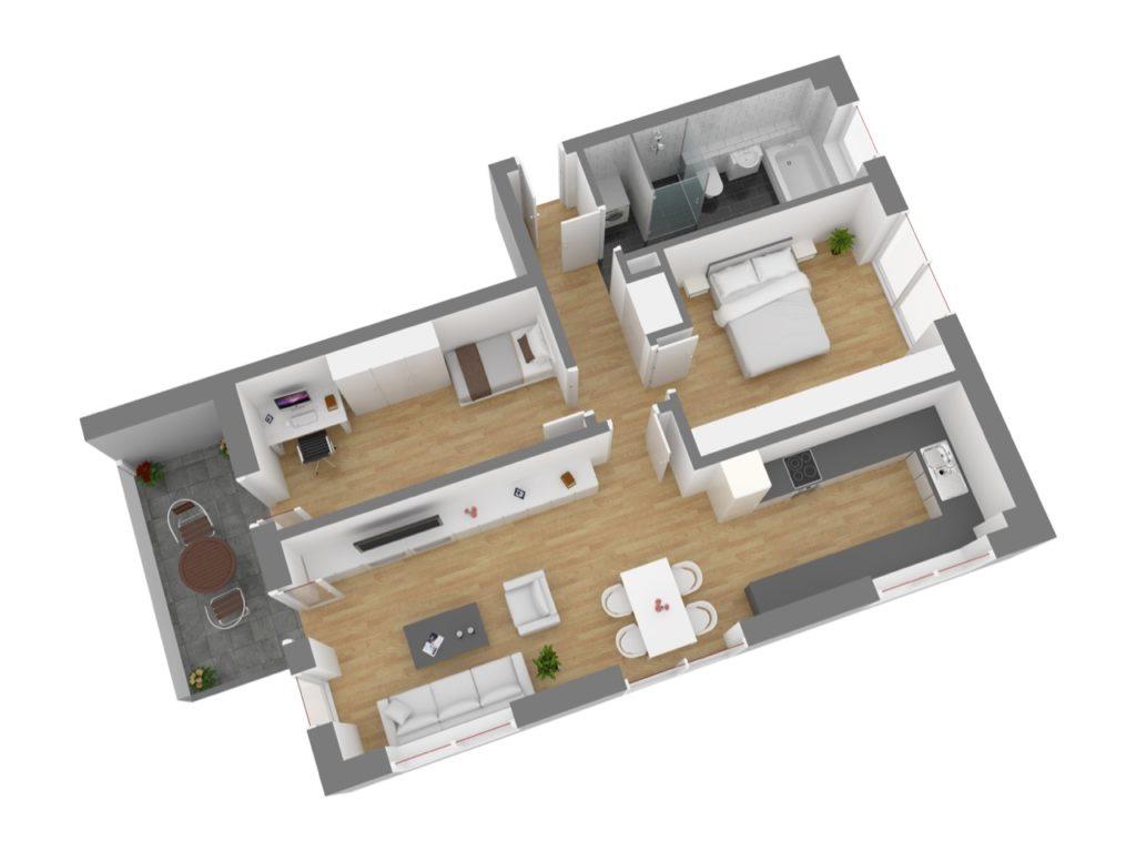 Wohnung 6, OG