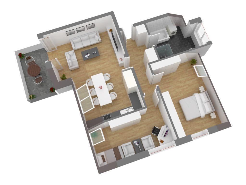 Wohnung 8, DG