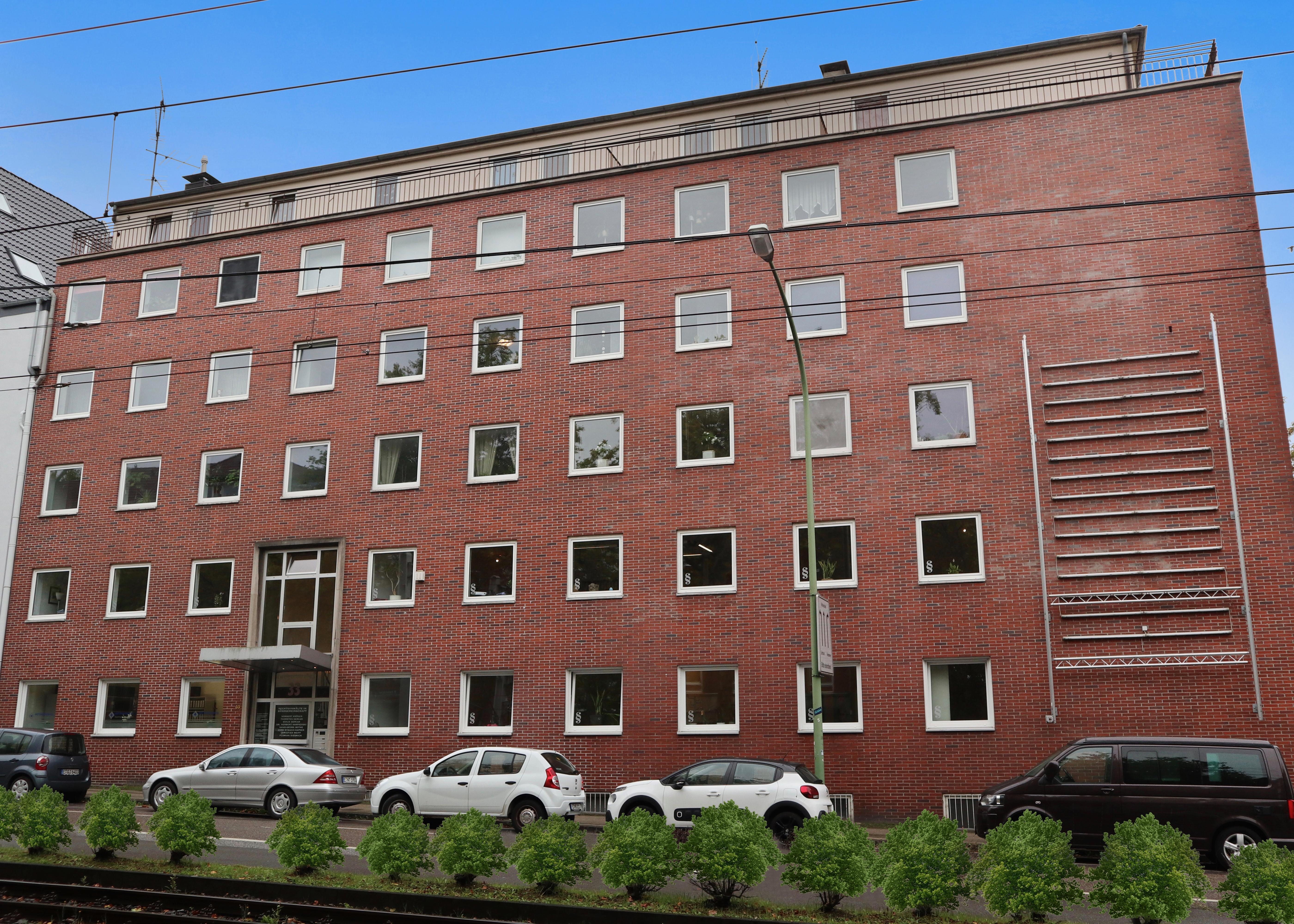 Wohn-Bürohaus in Essen-Rüttenscheid (Goethestraße/Zweigertstraße)