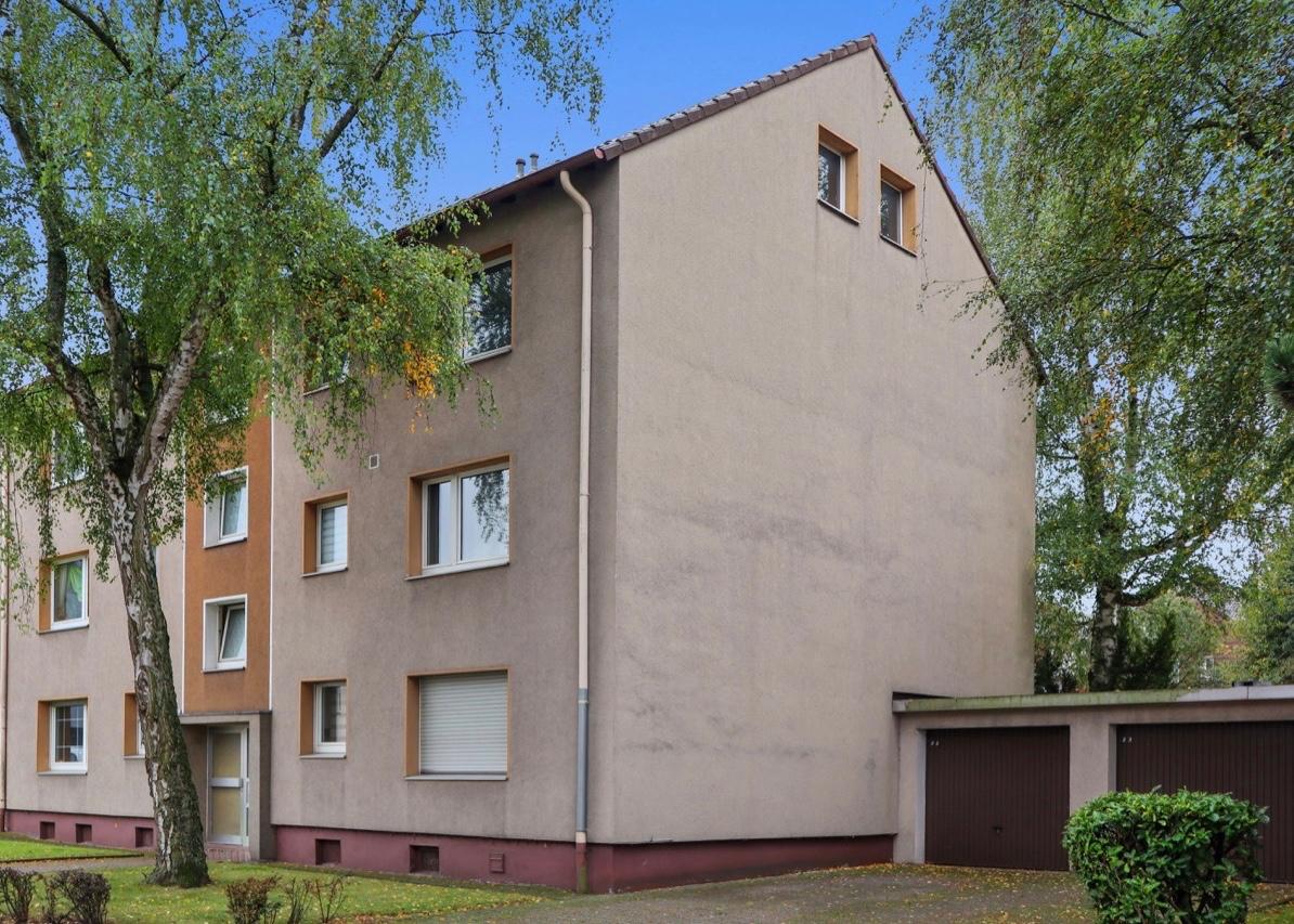 Vier Mehrfamilienhäuser in Mülheim an der Ruhr (Klippe)